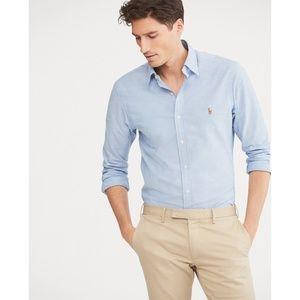 Polo Ralph Lauren Slim Fit Stretch Oxford Shirt M